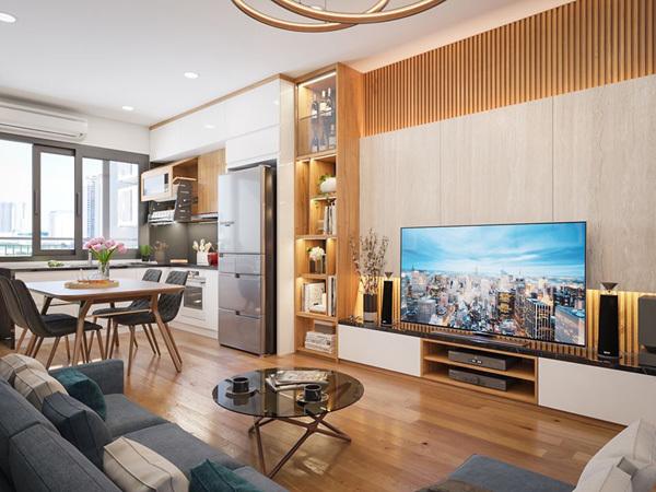 Chỉ 1,5 tỷ sở hữu căn hộ 2 phòng ngủ trung tâm quận Hà Đông