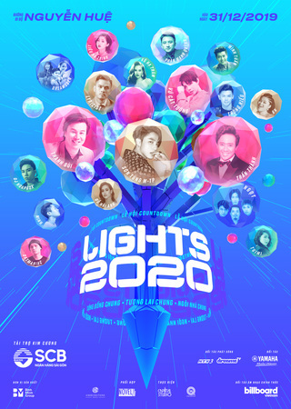 """HCM City to welcome the New Year with """"Lights 2020"""""""
