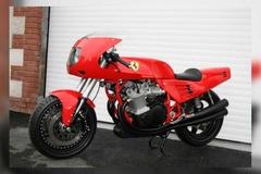 Khám phá chiếc môtô Ferrari độc nhất thế giới