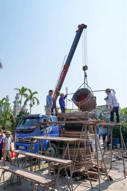 Nam Dinh,bronze casting village