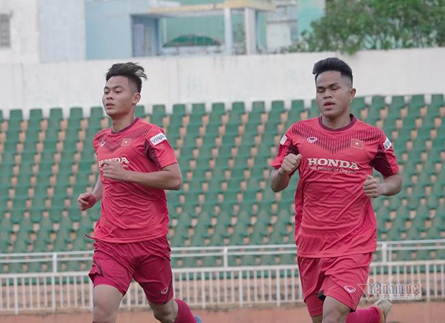 """Thầy Park ưu tư, U23 Việt Nam """"đuối"""" sau ngày xả trại"""