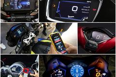 Kết nối điện thoại: xu thế mới của các hãng xe máy tại Việt Nam