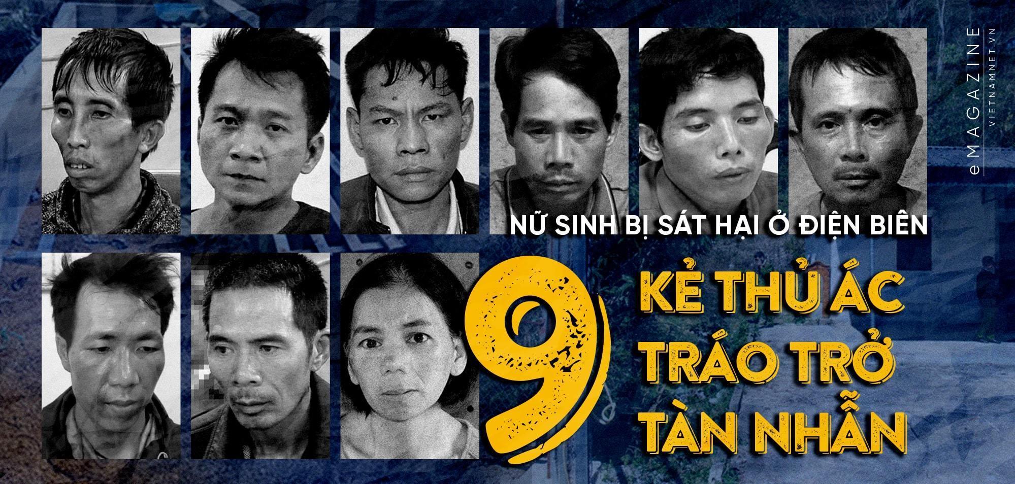 Đang xử 9 bị can vụ nữ sinh giao gà bị sát hại ở Điện Biên