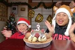 Bé Sa hoảng hốt với món quà sinh nhật 'siêu to khổng lồ'