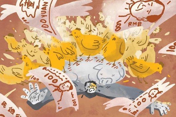 Dịch tả lợn hoành hành ở TQ, ngành chăn nuôi gà khốn đốn