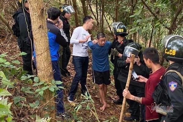 Vụ giết 5 người ở Thái Nguyên: Bắt nghi phạm Hoàng Văn Chín trên núi