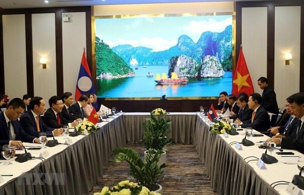 Vietnam, Laos hold sixth ministerial consultation