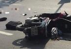 Va chạm với xe container, thiếu úy công an Đồng Nai tử vong