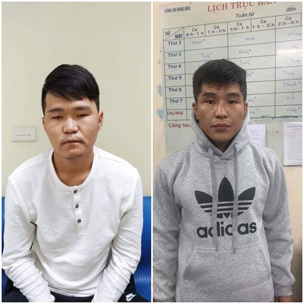 Mongolian men arrested for pickpocketing