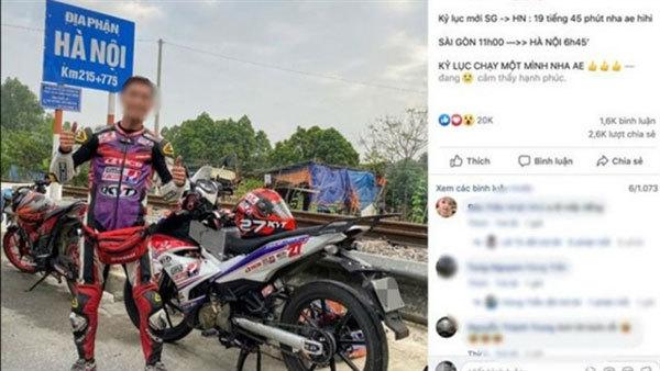 Speed demon fined for social media hoax