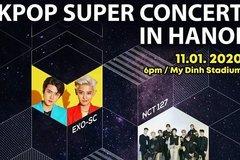 2020 K-Pop Super Concert to wow Hanoi audiences next January