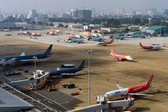 Nội Bài, Tân Sơn Nhất dừng đón chuyến bay chở khách từ Hàn Quốc