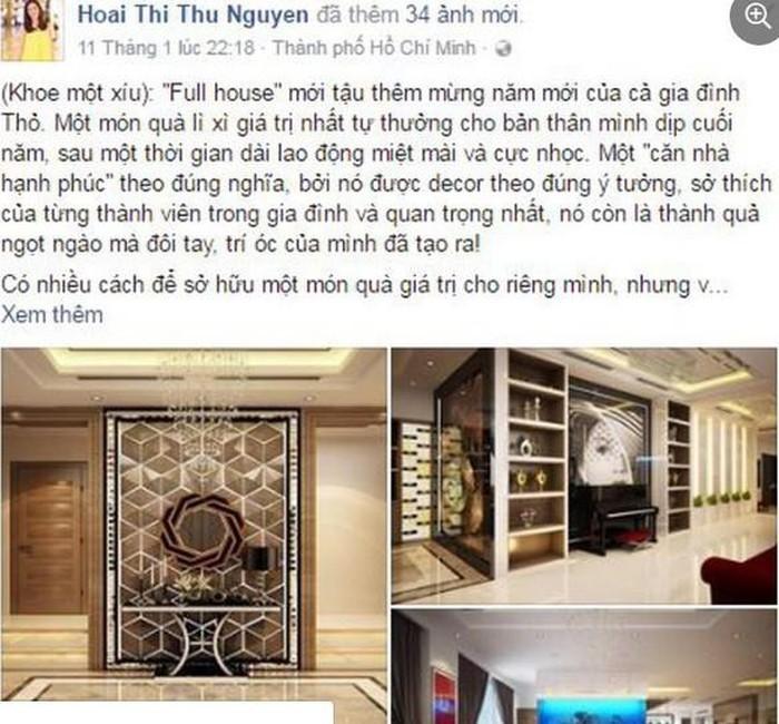 Biệt thự toàn đồ hiệu tiền tỷ của Hoa hậu Thu Hoài vừa được trai trẻ cầu hôn