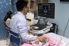 Em bé 8 ngày tuổi phải mổ khi mang bệnh lý tim mạch từ lúc còn trong bào thai