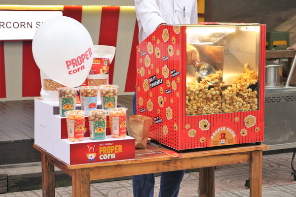 Bùng nổ xu hướng 'kinh doanh tinh gọn' với mô hình Fresh Popcorn