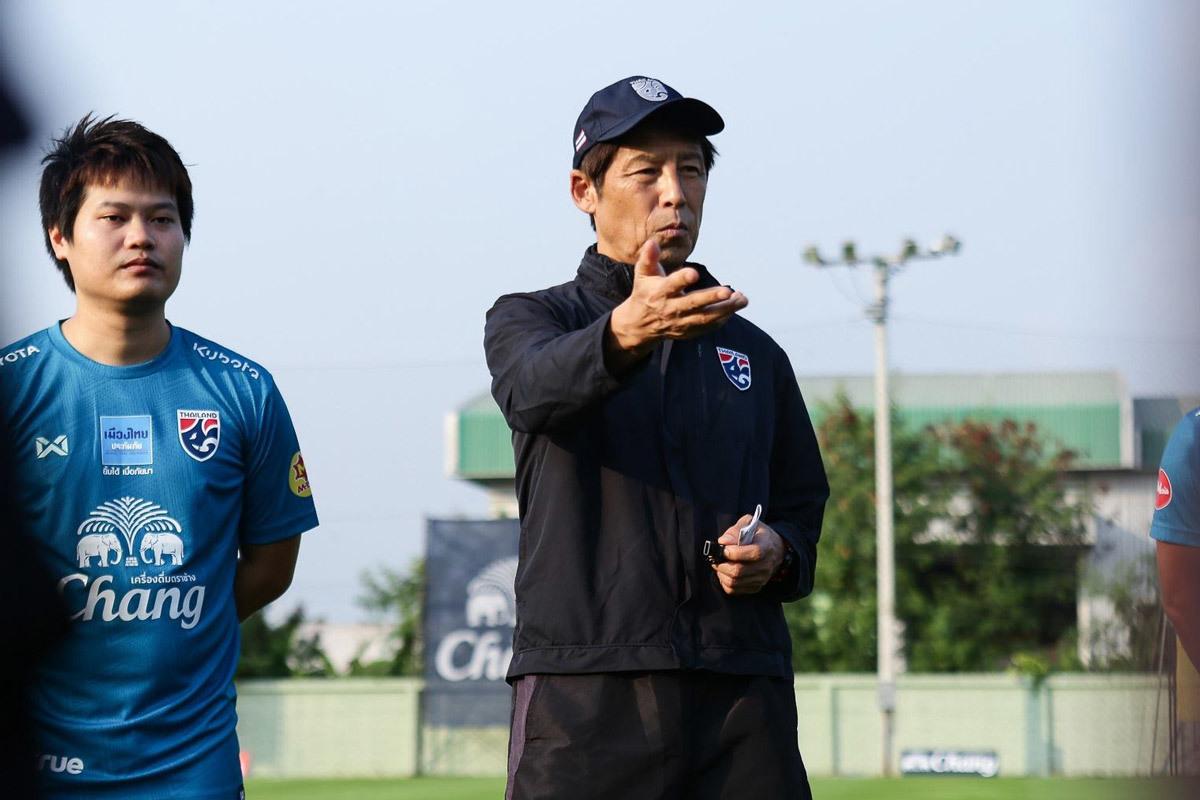 Thua kém Việt Nam, Akira Nishino làm mới U23 Thái Lan