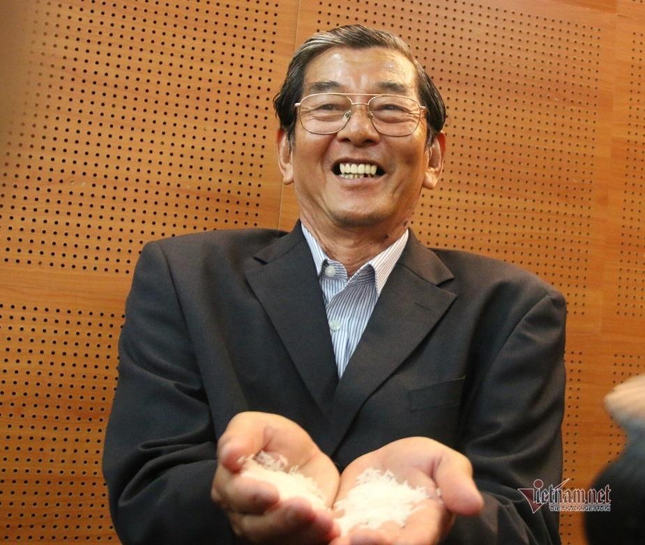 """Gặp """"cha đẻ"""" của giống gạo Việt ngon nhất thế giới"""