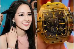 Mai Phương Thúy mua đồng hồ 1,7 tỷ cất tủ vì nặng tay