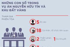 Những con số trong vụ án Nguyễn Hữu Tín giúp Vũ nhôm lấy đất vàng