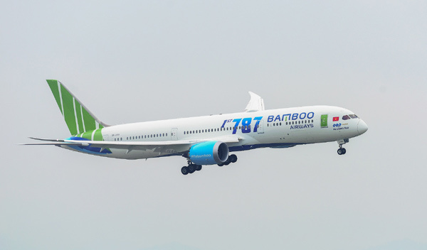 Bamboo Airways dẫn đầu về tỉ lệ bay đúng giờ trong tháng 12