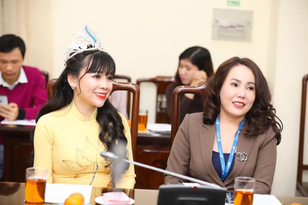 Hoa hậu Phạm Bích Thủy đồng hành cùng chương trình Mùa Xuân cho em 2020