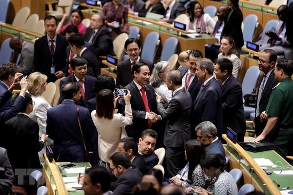 Những dấu ấn sống động trên các diễn đàn quốc tế về quyền con người