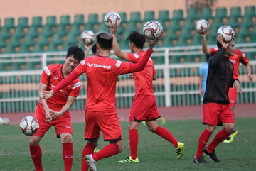 Vietnam gear up for the AFC U23 Championships