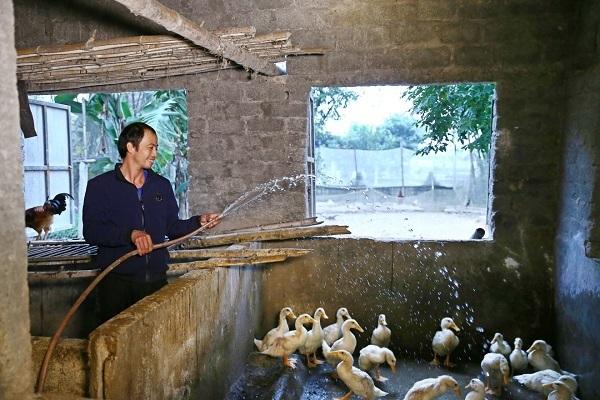 Hà Tĩnh: 145 hộ dân thị trấn Nghèn hân hoan đón nước sạch