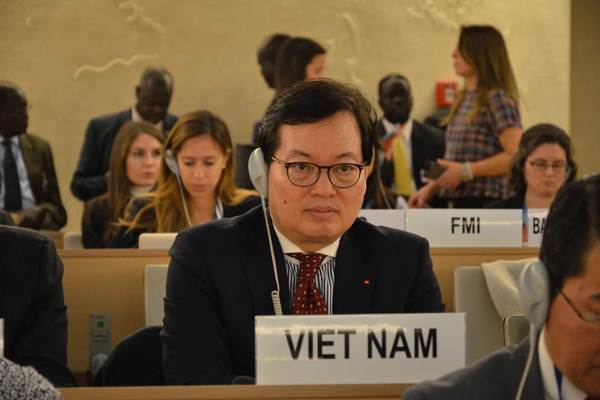 UNHRCadopts Resolution on Human Rights, co-authored by Vietnam