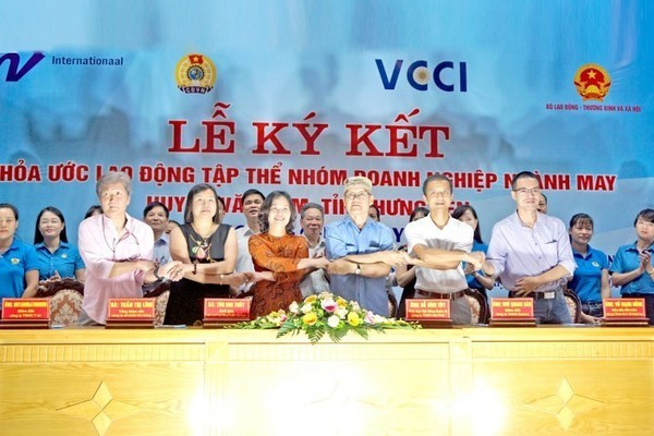 Promote the role of all parties in collective labor agreements
