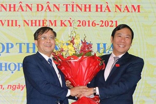 Hà Nam, Thái Bình có Phó Chủ tịch mới