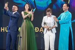 Yan My đẹp rạng rỡ tại lễ trao giải Ngôi sao xanh 2019