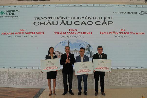 Chủ đầu tư Metro Star thưởng gần 1 tỷ đồng cho đại lý phân phối