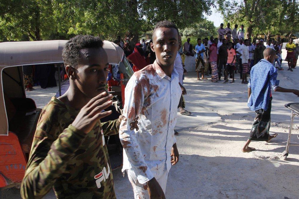 Đánh bom ở Somali, hàng chục người thương vong