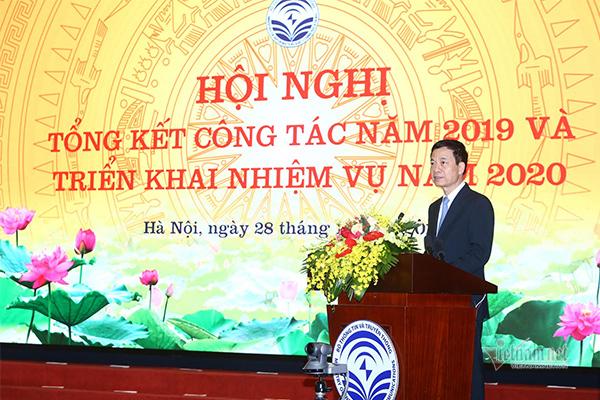 toàn văn phát biểu,Bộ trưởng Nguyễn Mạnh Hùng,Bộ TT&TT,tổng kết 2019
