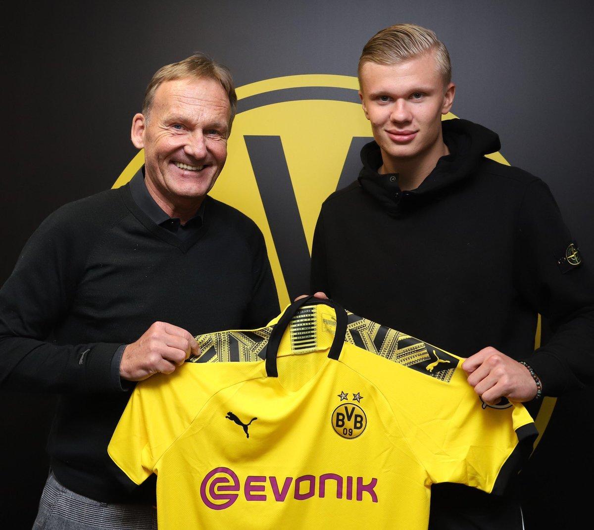 Erling Haaland bỏ qua MU, bất ngờ gia nhập Dortmund