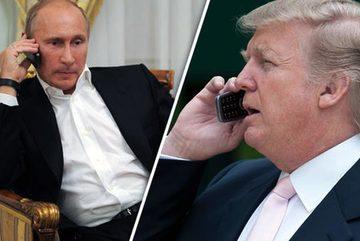 Putin bất ngờ gọi điện cảm ơn ông Trump