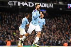 Man City thắp hi vọng bám đuổi Liverpool