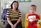 Gia đình bé Gia Bảo cảm ơn bạn đọc Báo VietNamNet