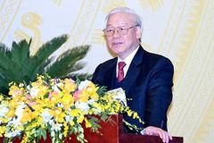 Tổng bí thư, Chủ tịch nước: Tiếp tục xử lý tham nhũng, các đồng chí chờ xem
