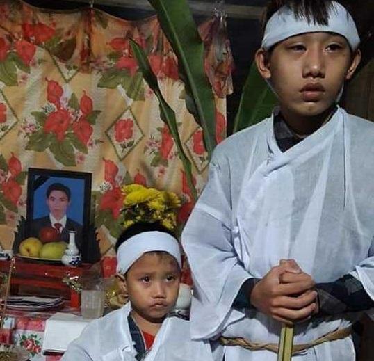 Trao hơn 31 triệu đồng đến hai anh em mồ côi ở Hà Tĩnh