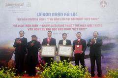 Sa Pa nhận 'cú đúp' kỷ lục Việt Nam về du lịch