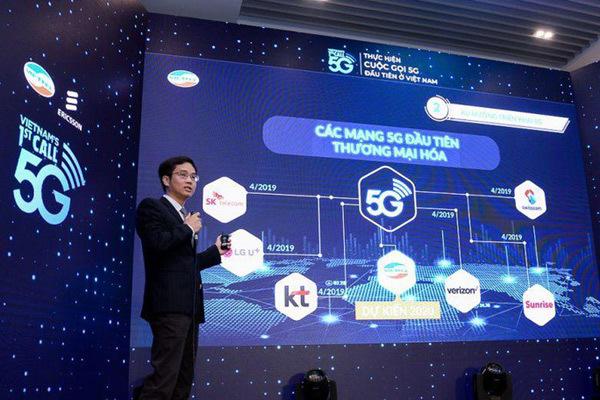Việt Nam sẵn sàng cho 'tàu tốc hành' 5G
