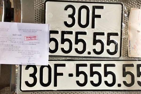 Mua lại biển số ô tô của người khác có trái luật?