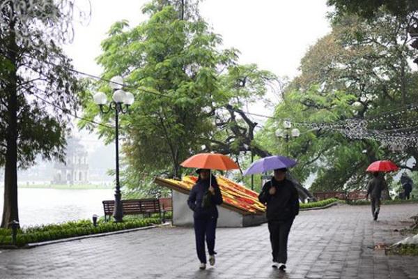 Dự báo thời tiết 31/12, không khí lạnh ùa về, Hà Nội mưa rét