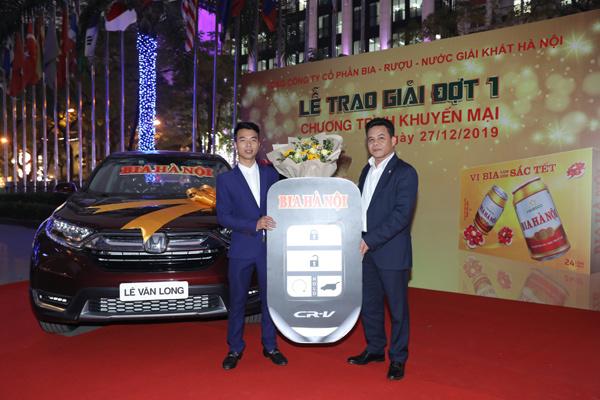 Khách hàng Habeco trúng thưởng ô tô 1,1 tỷ đồng