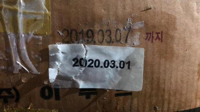 12 tấn đùi gà tây hun khói Hàn Quốc hết hạn 1 năm vẫn được rao bán