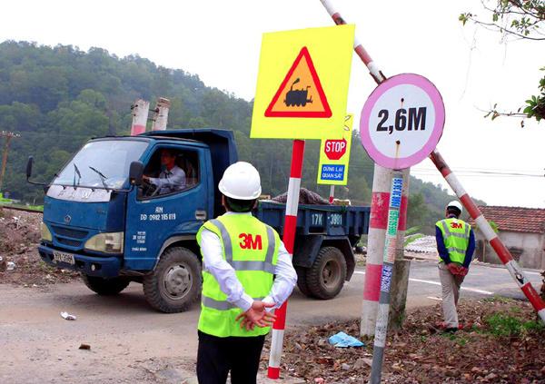 Giải pháp an toàn khu vực giao nhau với đường sắt từ 3M