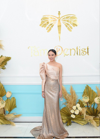 Hoa hậu Thu Hoàng khai trương Trung tâm Nha khoa thẩm mỹ ở TP.HCM
