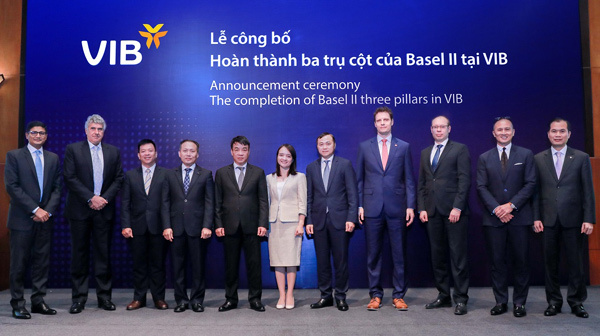 Lãnh đạo VIB: Basel II làm cho ngân hàng an toàn và chất lượng hơn.